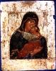 Икона Богоматерь Умиление  17 век
