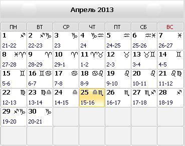 Православный календарь 2017 на апрель 2017 года