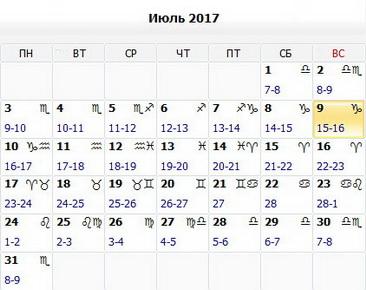 Лунный календарь стрижки волос на август 2017