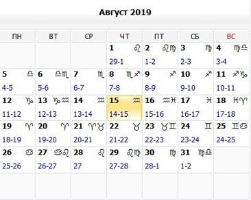 Лунный календарь денег на август 2019: как стать богаче в 2019 году